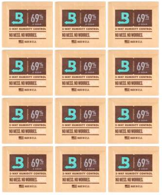 Boveda Set 12x Humidipak 2-way Humidifer klein 69%