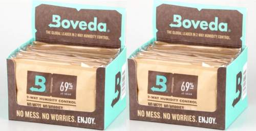 Boveda Set 24x Humidipak 2-way Humidifer groß 69%