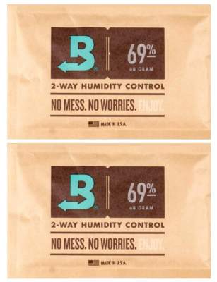 Boveda Set 2x Humidipak 2-way Humidifer groß 69%