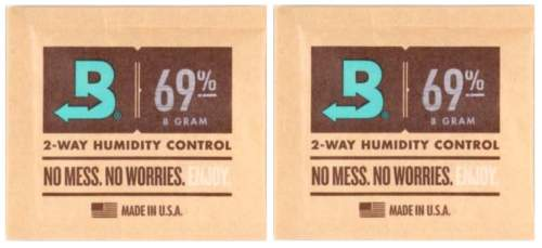 Boveda Set 2x Humidipak 2-way Humidifer klein 69%