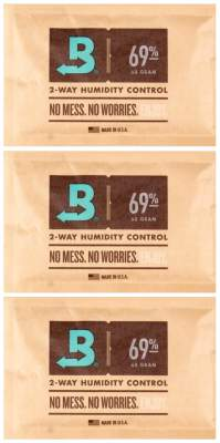 Boveda Set 3x Humidipak 2-way Humidifer groß 69%