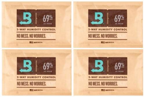Boveda Set 4x Humidipak 2-way Humidifer groß 69%
