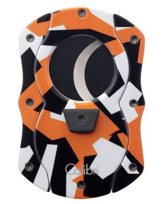 Colibri Cut Camo Zigarrencutter orange Camouflage 25mm Schnitt