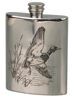 Flachmann English Pewter Zinn Ente 6oz/180ml