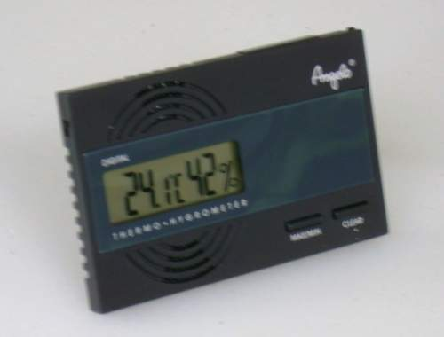 Angelo Digital Hygrometer Thermometer seitlich