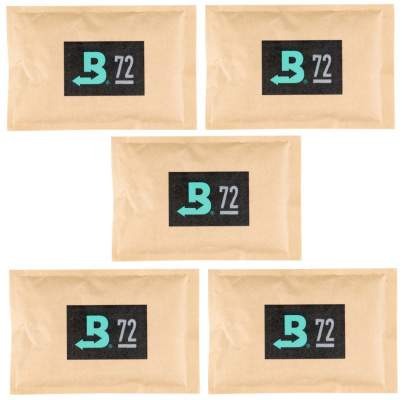 Boveda Set 5x Humidipak 2-way Humidifer groß 72%