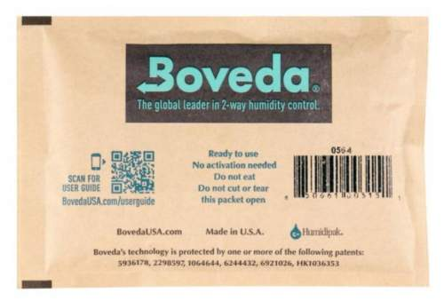Boveda Set 6x Humidipak 2-way Humidifer groß 72%
