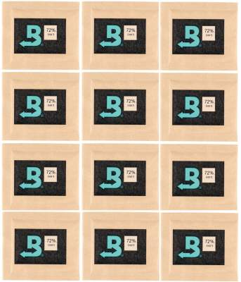 Boveda Set 12x Humidipak 2-way Humidifer klein 72%