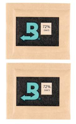 Boveda Set 2x Humidipak 2-way Humidifer klein 72%