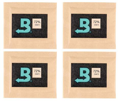 Boveda Set 4 x Humidipak 2-way Humidifer klein 72%