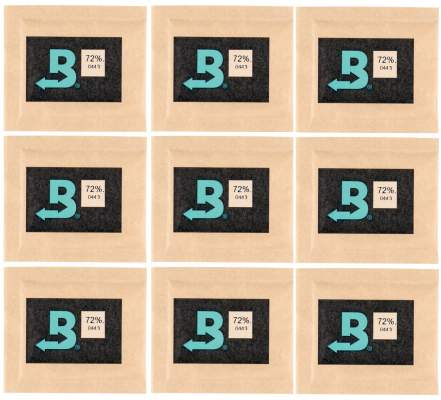 Boveda Set 9x Humidipak 2-way Humidifer klein 72%