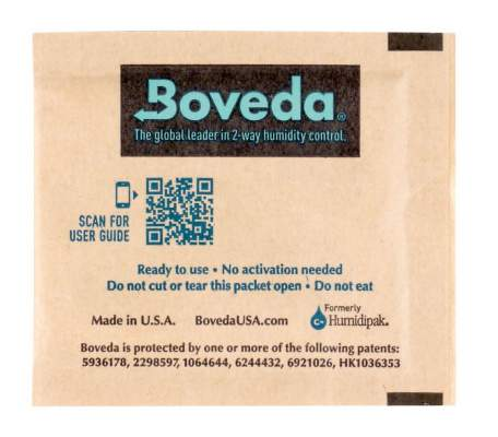 Boveda Set 9 x Humidipak 2-way Humidifer klein 72%