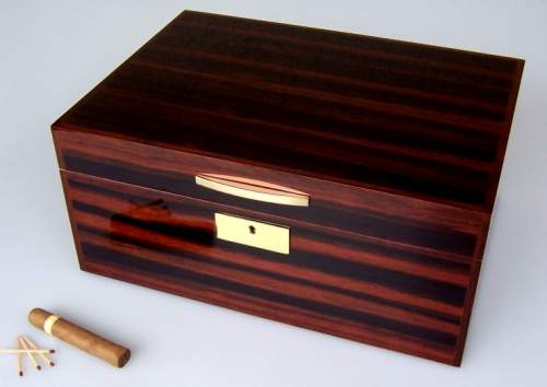 Angelo Humidor High Gloss Makassar Premium