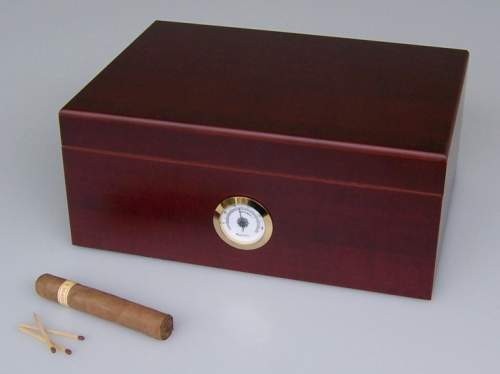 Angelo Humidor Rosenholz-Optik