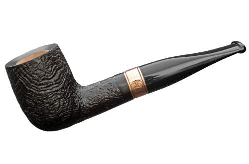 Rattray's Distillery Pfeife sandblast black 109 Billiard