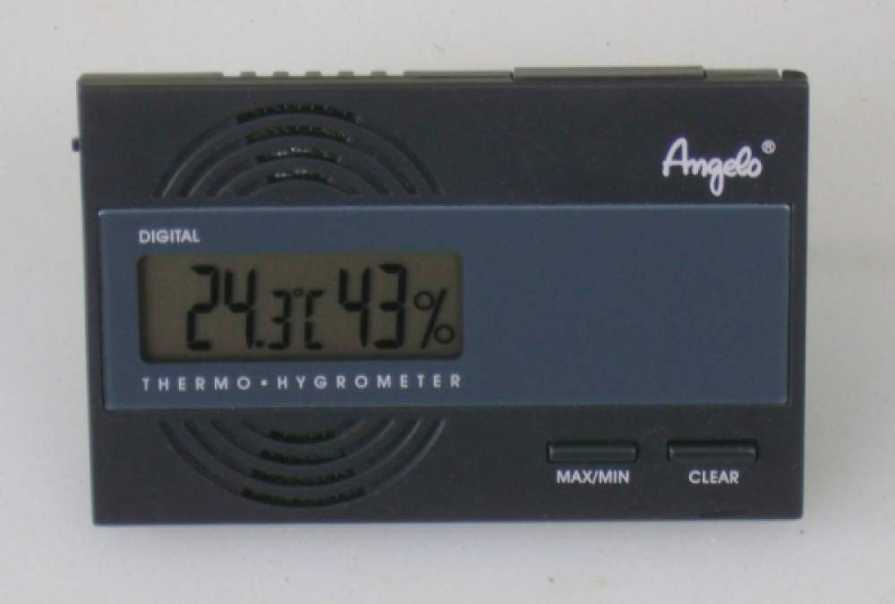 Angelo Digital Hygrometer Thermometer