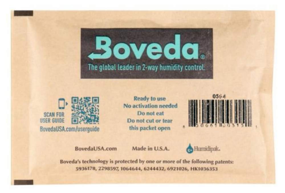 Boveda Set 2x Humidipak 2-way Humidifer groß 72%