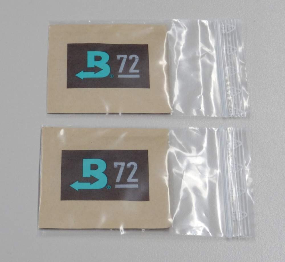 Boveda Set 2 x Humidipak 2-way Humidifer klein 72%