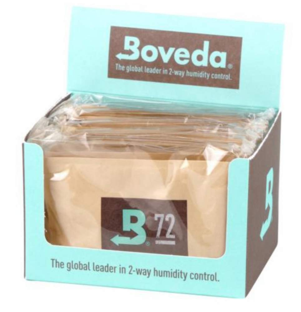 Boveda Set 12x Humidipak 2-way Humidifer groß 72%