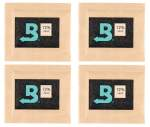 Boveda Set 4x Humidipak 2-way Humidifer klein 72%