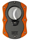 Colibri Monza Cut Zigarrencutter schwarz - orange 22mm Schnitt